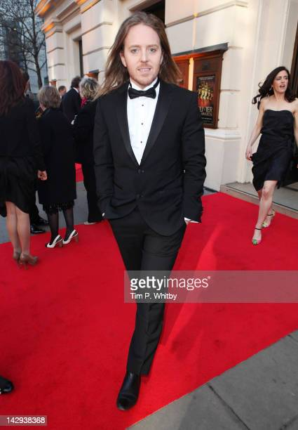 Tim Minchin attends the 2012 Olivier Awards at The Royal Opera House on April 15 2012 in London England