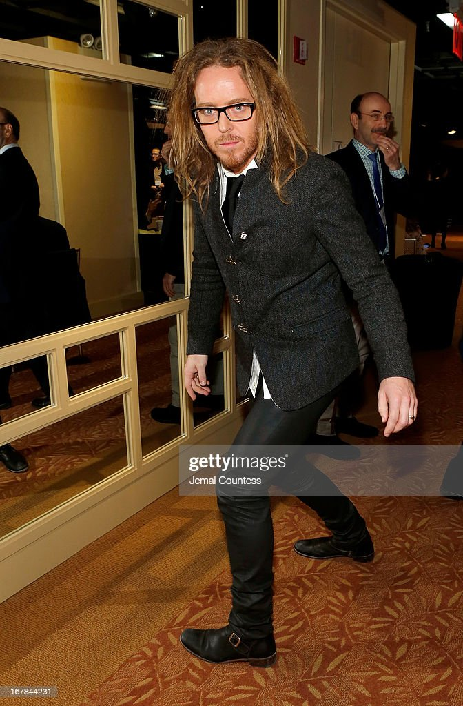 Tim Minchin attends the 2013 Tony Awards Meet The Nominees Press Reception on May 1, 2013 in New York City.