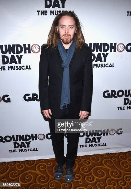 """Tim Minchin attends the """"Groundhog Day"""" Broadway Opening Night at Gotham Hall on April 17, 2017 in New York City."""