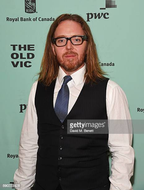 Tim Minchin attends the press night after party for Groundhog Day at The Old Vic Theatre on August 16 2016 in London England