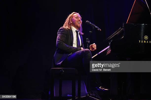 Tim Minchin performs at the Summer Gala for The Old Vic at The Brewery on June 27 2016 in London England
