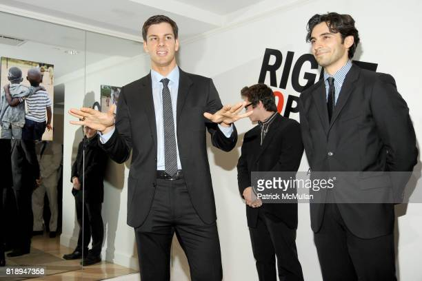 Tim Morehouse and Jason Rogers attend RIGHT TO PLAY 'En Garde' Charity Cocktail Party at Barneys New York on May 13 2010 in New York City