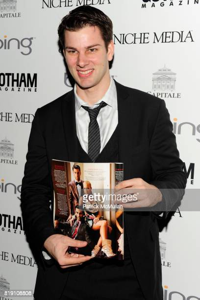 Tim Morehouse attends ALICIA KEYS Hosts GOTHAM MAGAZINES Annual Gala Presented by BING at Capitale on March 15 2010 in New York City