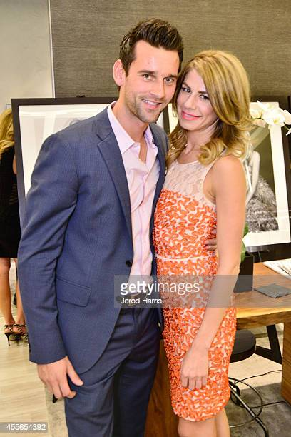Tim Mudrick and Polina Chebotareva attend David Yurman with RIVIERA host an instore event to celebrate the 'Enduring Style' fall campaign on...