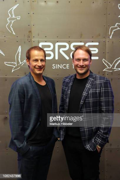 Tim Niedernolte and Martin Stange attend the BREE Grand Opening Of New Haedquarters In Hamburg on October 17 2018 in Hamburg Germany
