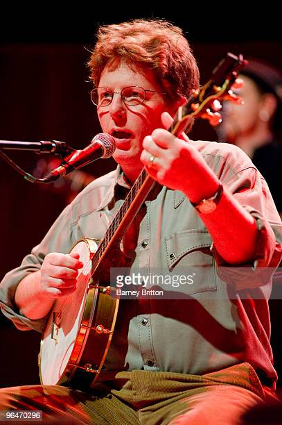 Tim O'Brien of The Transatlantic Sessions performs at the Royal Festival Hall on February 6 2010 in London England