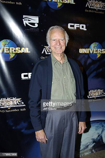 Tim O'Connor during 25th Anniversary Cast and Crew Reunion of Buck Rogers In The 25th Century at Egyptian Theatre in Los Angeles California United...