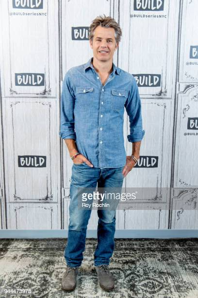 Tim Olyphant discusses The Santa Clarita Diet with the Build Series at Build Studio on April 10 2018 in New York City