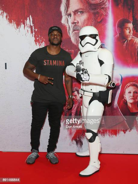 Tim Omaji attends Star Wars The Last Jedi Sydney Screening Event on December 13 2017 in Sydney Australia