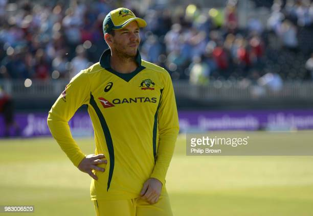 Tim Paine of Australia looks on after the fifth Royal London OneDay International match between England and Australia at Emirates Old Trafford...