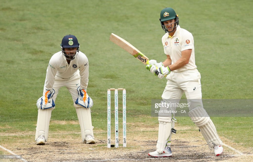 Tim Paine Of Australia Prepares To Face As Wicketkeeper Rishabh Pant News Photo Getty Images