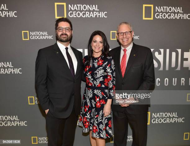 Tim Pastore President Original Programming and Production National Geographic Partners Courteney Monroe CEO National Geographic Global Networks and...