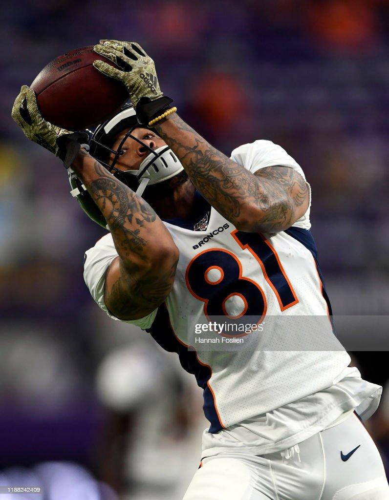 Denver Broncos vMinnesota Vikings : News Photo