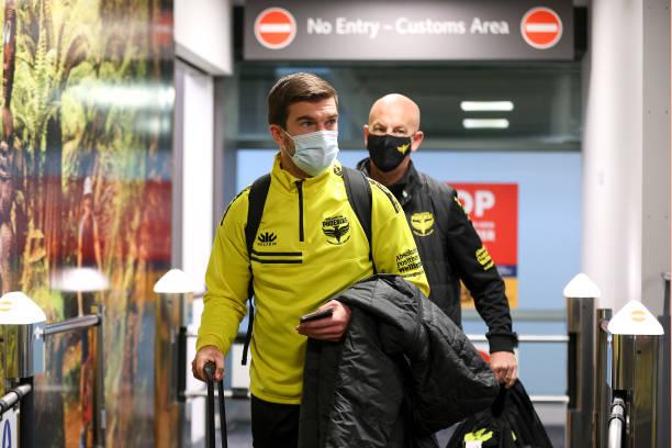 NZL: Wellington Phoenix Arrive Home After Being Based In Australia