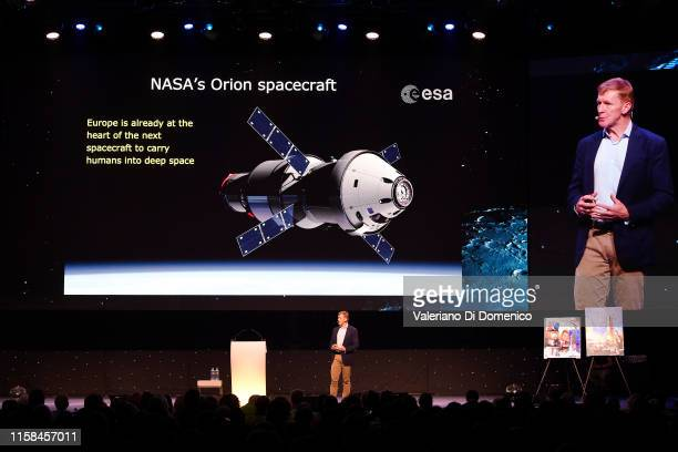 Tim Peake attends Starmus V A Giant Leap sponsored by Kaspersky at Samsung Hall on June 26 2019 in Zurich Switzerland