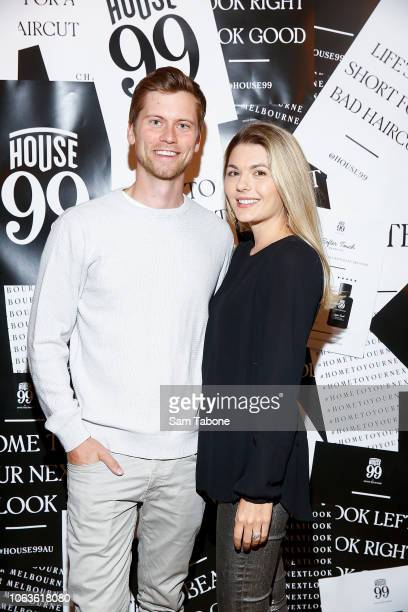 Tim Phillips and Jess Phillips attend the House 99 By David Beckham Launch on November 20 2018 in Melbourne Australia