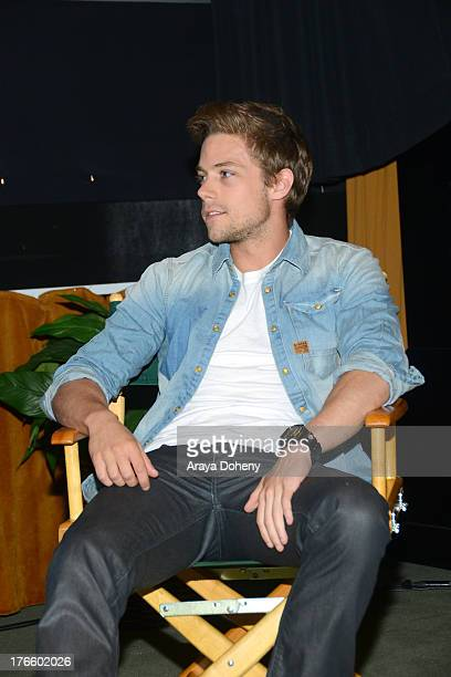 Tim Pocock attends the Australians In Film screening of Battle Ground on August 15 2013 in Los Angeles California