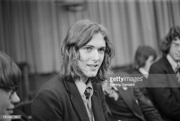 Tim Pope, a pupil at Latymer Grammar School in London, and one of the first to take the new Film Studies O-level, UK, April 1974. He went on to a...