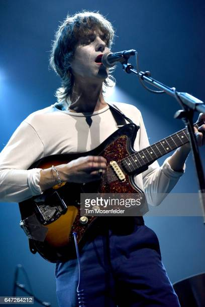 Tim Presley of White Fence performs during Noise Pop 25 at the Fox Theater on February 27 2017 in Oakland California