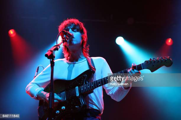 Tim Presley of White Fence performs onstage at the Fox Theater on February 27 2017 in Oakland California
