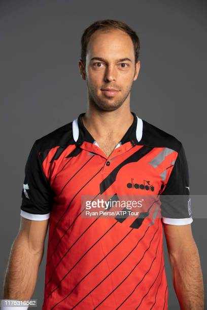 Tim Pütz of Germany poses for his official portrait at the Australian Open at Melbourne Park on January 13, 2019 in Melbourne, Australia.