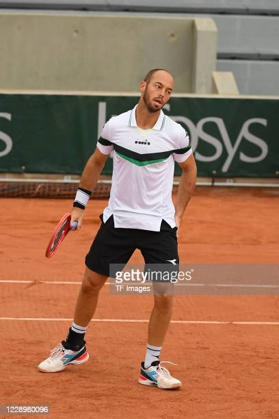 Tim Puetz of Germany during the day six of the French Open on October 02, 2020 in Paris, France.