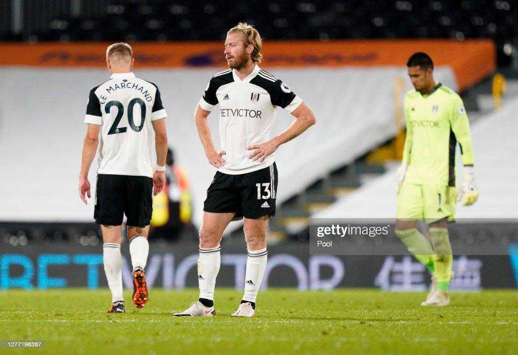 Fulham v Aston Villa - Premier League : News Photo