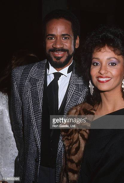 Tim Reid and Daphne Reid during Tribute Dinner Gala for Bud Grant at Beverly Wilshire Hotel in Beverly Hills, California, United States.