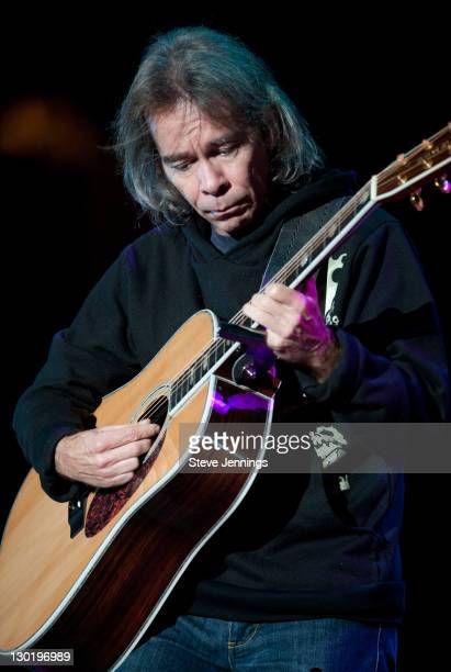 Tim Reynolds performs at the 25th Annual Bridge School Benefit Concert at Shoreline Amphitheatre on October 23, 2011 in Mountain View, California.
