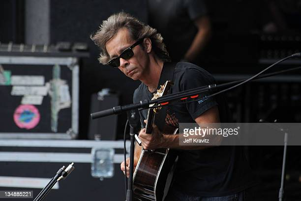 Tim Reynolds performs during day two of Dave Matthews Band Caravan at Bader Field on June 25 2011 in Atlantic City New Jersey