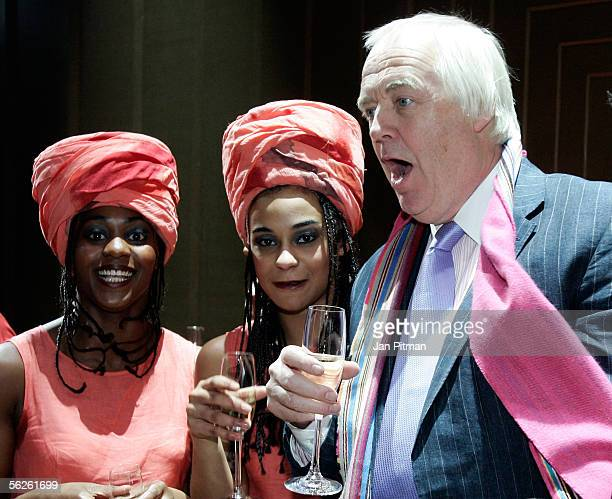 Tim Rice attends the premiere of the musical 'Aida' on November 22 2005 in Munich Germany The musical which was created by Elton John and Tim Rice...