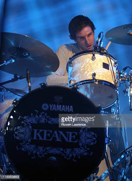 Tim Rice of Keane during Keane in Concert November 8 2004 at Nottingham Rock City in Nottingham Great Britain
