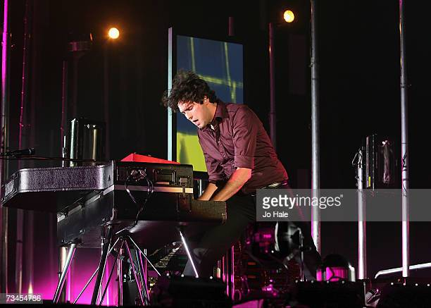 Tim RiceOxley of Keane performs at the Wembley Arena on February 28 2007 in London England