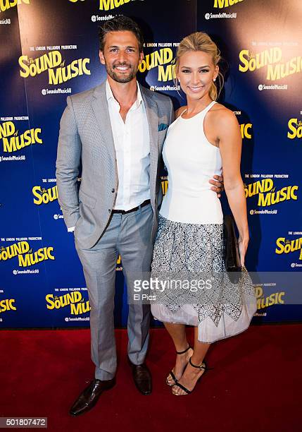 Tim Robards and Anna Heinrich during The Sound of Music Media Call at Capitol Theatre on December 17 2015 in Sydney Australia