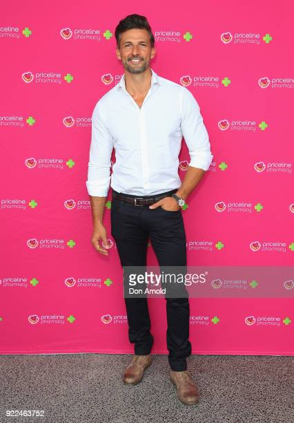Tim Robards arrives ahead of Priceline Pharmacy's 'The Beauty Prescription' live event at Royal Randwick Racecourse on February 22 2018 in Sydney...