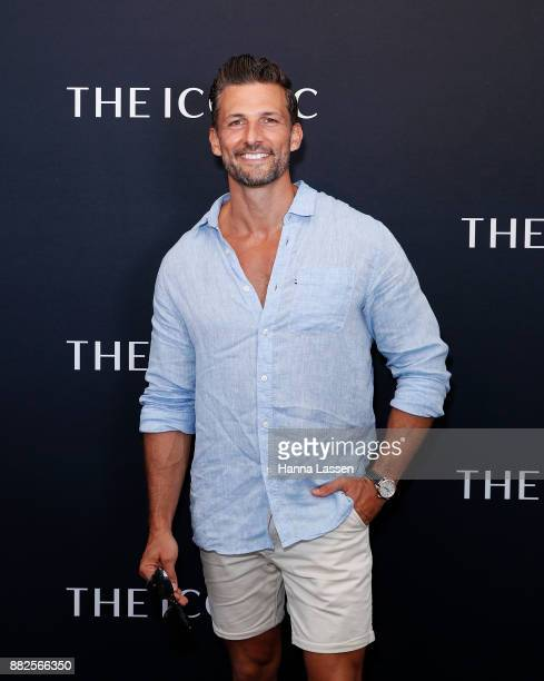 Tim Robards arrives ahead of THE ICONIC Swim Show 2017 on November 30 2017 in Sydney Australia
