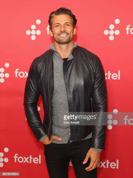 Tim Robards poses during a Foxtel Event at Hordern Pavilion on June 6 2017 in Sydney Australia