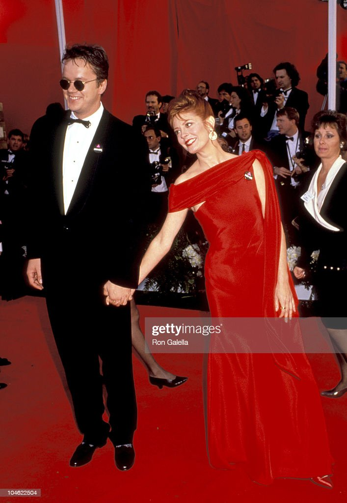 Tim Robbins and Susan Sarandon during 63rd Annual Academy Awards at Shrine Auditorium in Los Angeles, California, United States.