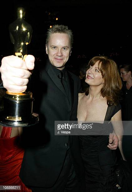 Tim Robbins and Susan Sarandon during 76th Annual Academy Awards - Governor's Ball at The Kodak Theater in Hollywood, California, United States.