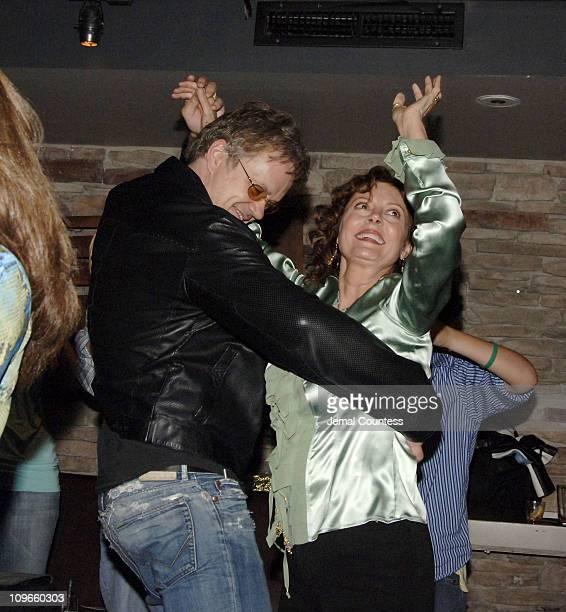 Tim Robbins and Susan Sarandon during Susan Sarandon Hosts a Benefit for Victims of Hurricane Katrina and the Musicians of NOLA at The Crash Mansion...