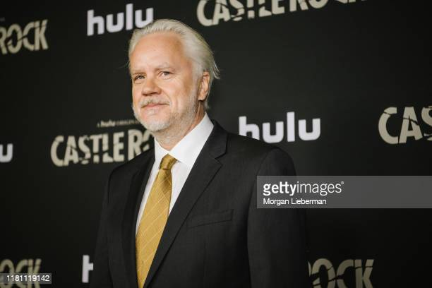 "Tim Robbins arrives at the premiere of Hulu's ""Castle Rock"" season 2 at AMC Sunset 5 on October 14, 2019 in Los Angeles, California."