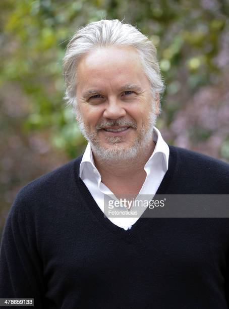 Tim Robbins attends a photocall to announce the start of the shooting of 'A Perfect Day' at Casa de America on March 14 2014 in Madrid Spain