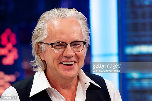 Tim Robbins attends 'El Hormiguero' TV show at Vertice Studio on September 3 2015 in Madrid Spain