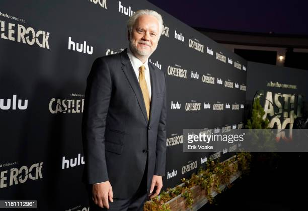 "Tim Robbins attends Hulu ""Castle Rock"" Season 2 Premiere at AMC Sunset 5 on October 14, 2019 in West Hollywood, California."
