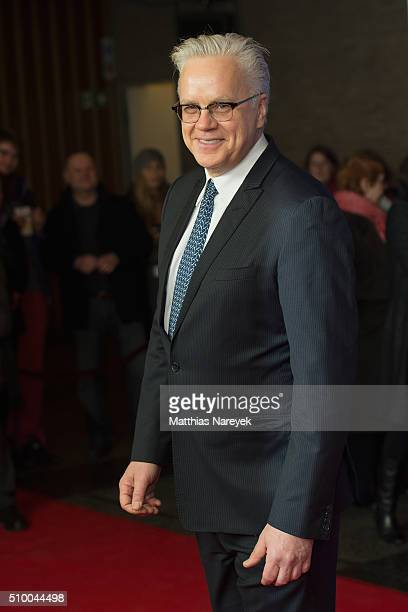 Tim Robbins attends the award with the Berlinale Camera on his behalf during the 66th Berlinale International Film Festival Berlin at Kino...