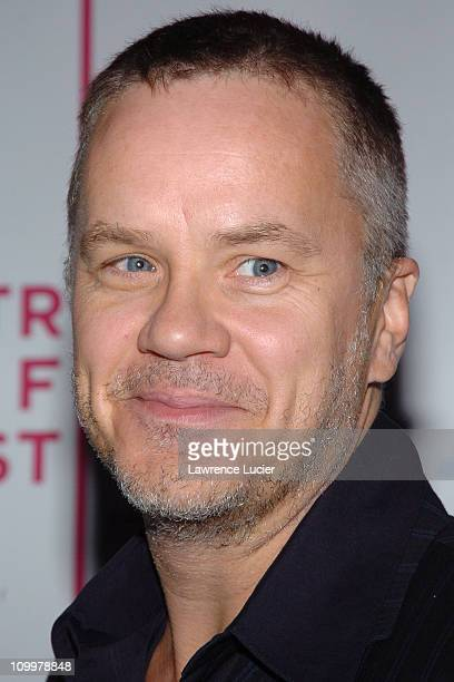 Tim Robbins during 4th Annual Tribeca Film Festival - The Interpreter Premiere - Arrivals at Ziegfeld Theater in New York City, New York, United...