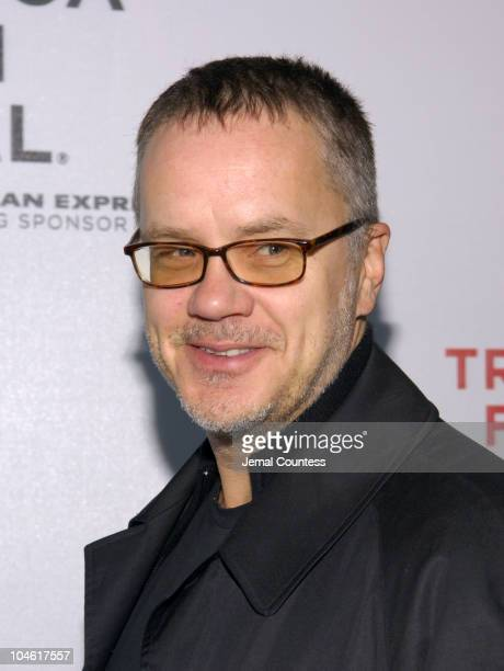 "Tim Robbins during 4th Annual Tribeca Film Festival - ""Yes"" Premiere at Stuyvesant High School in New York City, New York, United States."