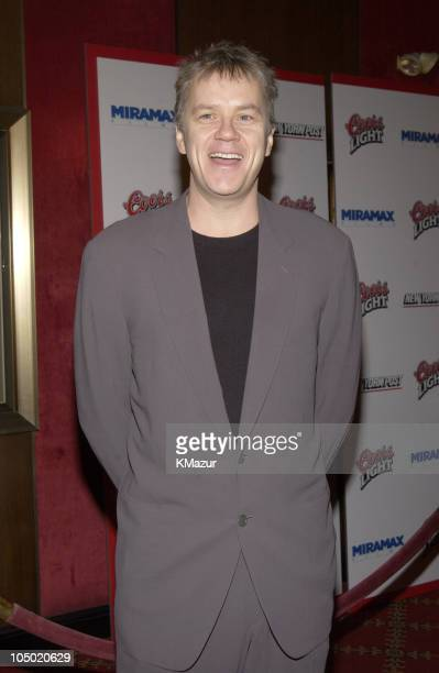 Tim Robbins during Gangs of New York World Premiere at Ziegfeld Theater in New York City New York United States
