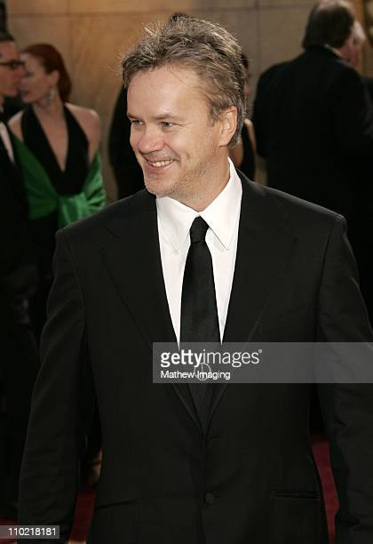 Tim Robbins during The 77th Annual Academy Awards - ET Platform at Kodak Theatre in Los Angeles, California, United States.