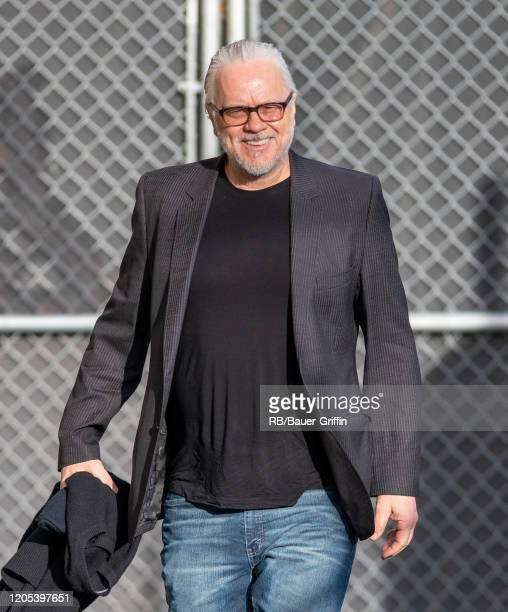 Tim Robbins is seen at 'Jimmy Kimmel Live' on March 05, 2020 in Los Angeles, California.